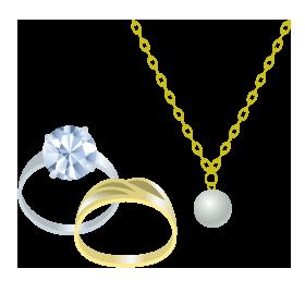 貴金属・宝石類